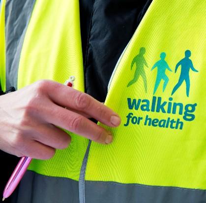 Walking for Health tabard